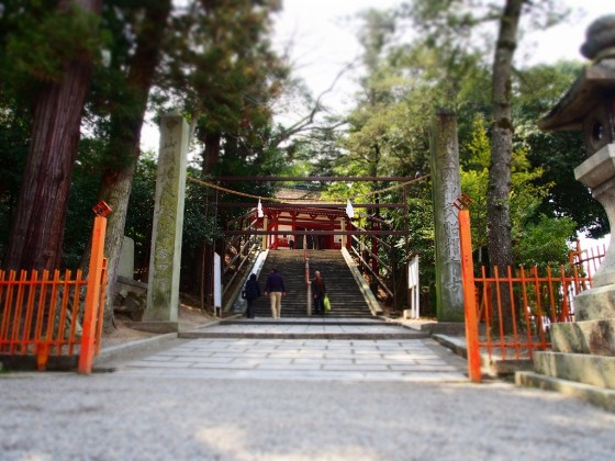 吉備津神社の門